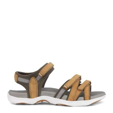 Green Comfort sandal Peach