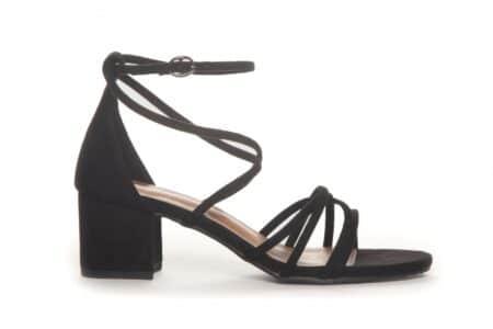 Duffy sandal m/hæl sort nord sko