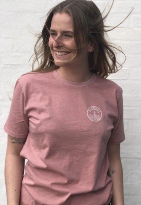 hjemhavn lyserød t-shirt