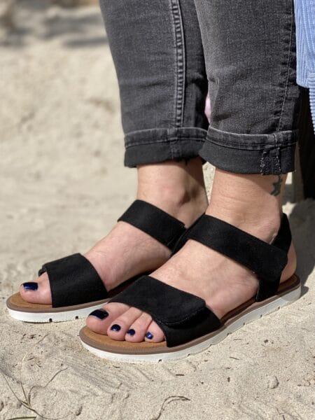 duffy sandal velcro nord sko