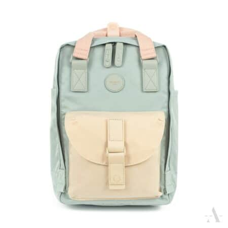 himawari bags lilla og gul rygsæk til labtop til computer