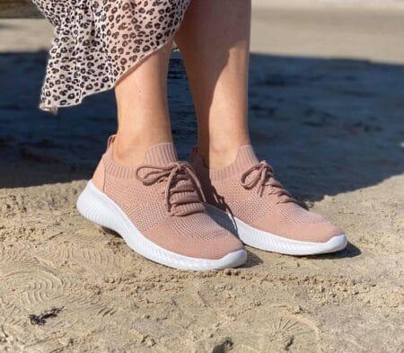 slip on rose lyserød sneakers