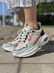 RUGGED GEAR MØSNTRET CHUNKY SNEAKERS