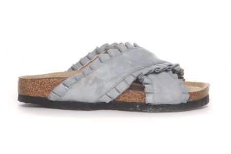 Duffy Slip On Sandal Light Blue 86-23005