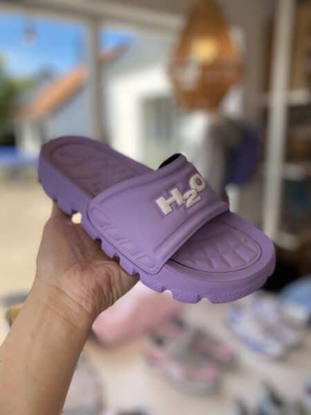 H2O lilla badetøffel
