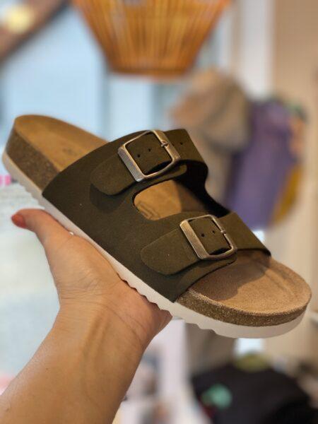 bio sandal oliven