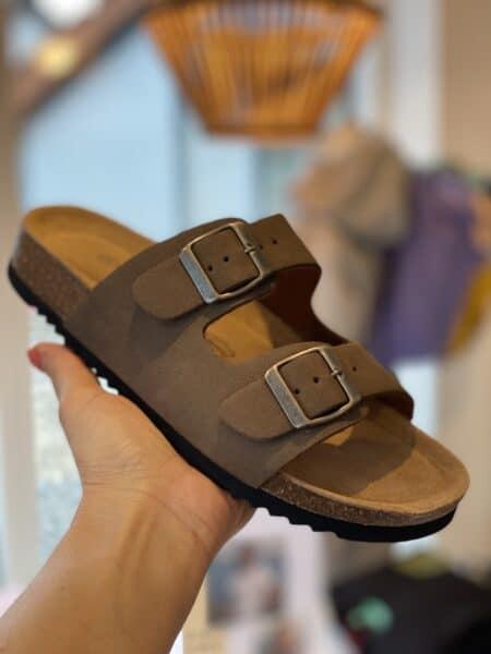 bio sandal brun