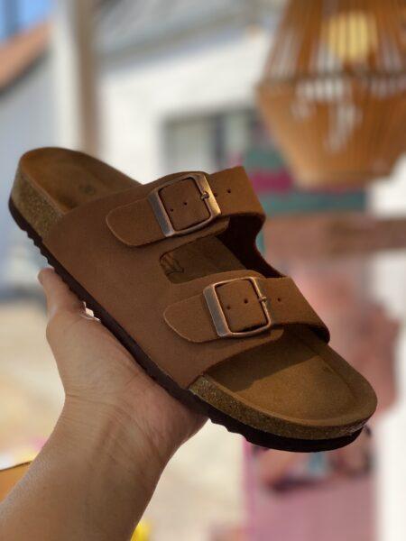bio sandal camel