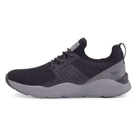 sort herre sneakers med grå sål