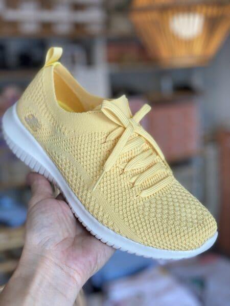 skechers yellow 12841