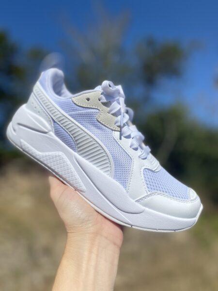 Puma X-Ray white-gray-violet