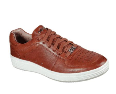 Skechers mark nanson cognac brun lædersko sneakers