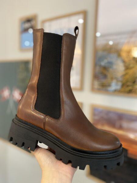 Tamaris Støvle Cognac Leather