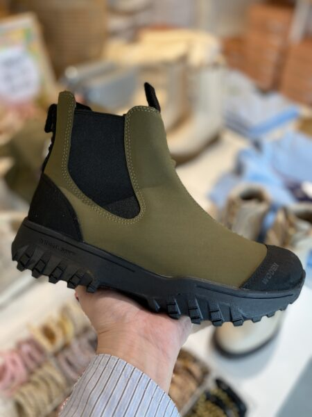 woden gummistøvle grøn rubber boots