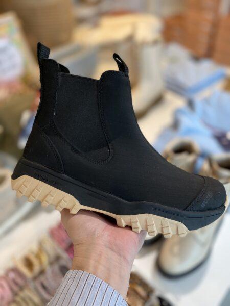 Woden rubber track boot gummistøvle woden sort