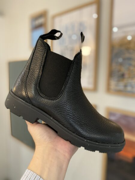 the northern company by nature shoes sort læder støvle blød elg læder