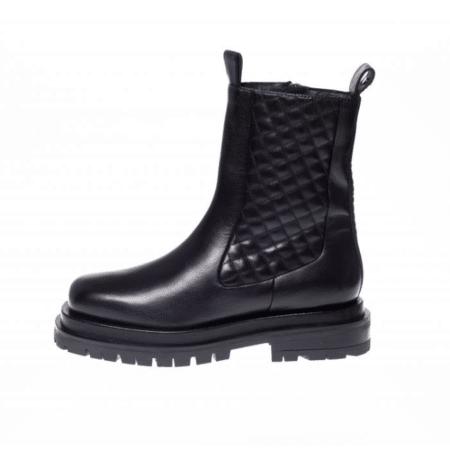 Copenhagen shoes støvle boots sort midnight CS5658 læder leather Nordsko Hune Blokhus
